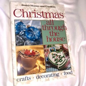 CHRISTMAS ALL THROUGH THE HOUSE HARDCOVER BOOK